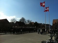 IMG_0344 (Helle Jacobsen, Venstre) Tags: marie campus reception sdu prinsesse indvielse slagelse byrd garderhusar