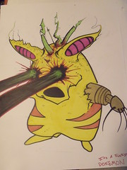Pokemon (GreenDischarge) Tags: abstract sketch drawing pokemon penink