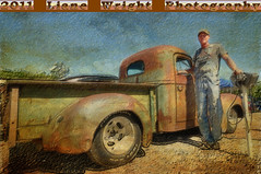 Greaserama #21 (The Wright Way (Liane Wright Photography)) Tags: old man classic truck artistic antique kansas peep farmer collector greaserama