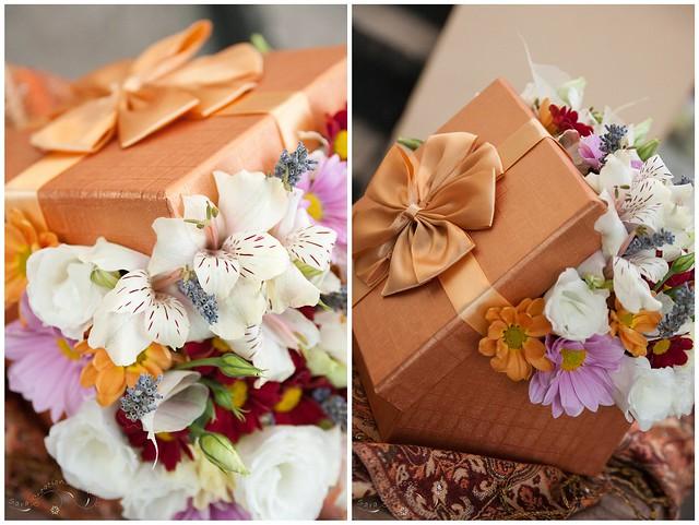 Cutia cu flori