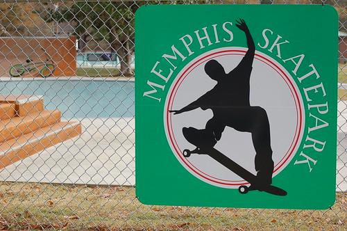 Memphis Skate Park, Tobey Park, Memphis, Tenn.