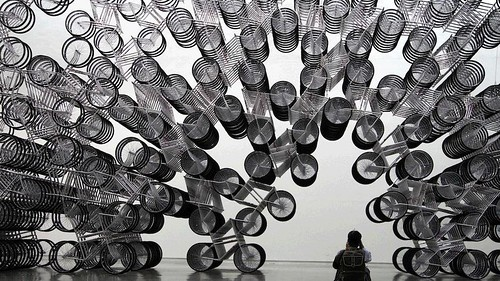 Ai Wei Wei's Forever Bicycles