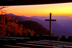 Pretty Place Chapel (Matt Williams Gallery) Tags: autumn sunset fall church nature matt landscape photography nikon williams christ god jesus lord christian christianity hdr savior jesuschrist beautifulsunset jusus d90 northcarolinamountains churchcross prettyplacechapel lordandsavior prettyplacechapelnc