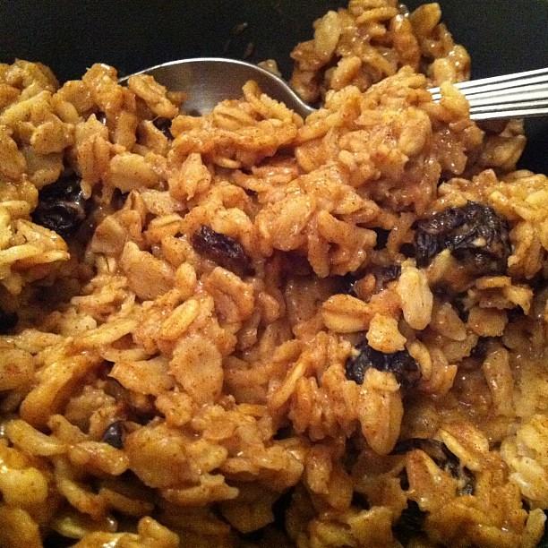 Oatmeal... For dinner!