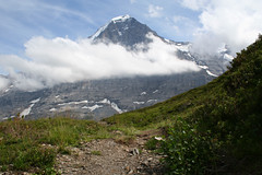 The North Face of the Eiger (pixelshoot) Tags: switzerland berneroberland jungfrauregion naturemountainsalps