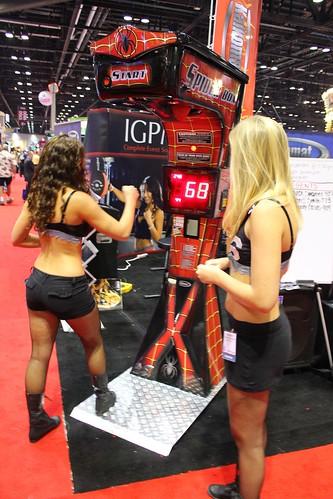 Punching bag girls