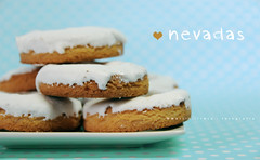 Nevadas ... (Maril Irimia) Tags: blue cookies azul postre dessert nikon picnic cookie sweet cream donuts crema greedy dulces nevadas galletas rosquillas softtones merienda colorespastel coloressuaves golosos oltusfotos marilirimia ringexcellence marilirimiafotografa galletasnevadas