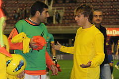 IMG_6869 (EcoWang) Tags: b football mini marc kiko futbol bara tarragona estadi bartra