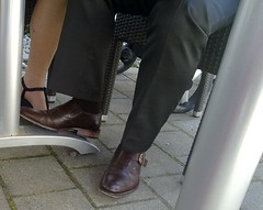 Hidden Camera - brown dress shoes with buckle (TBTAOTW2011) Tags: brown man leather shoe dress suit mature buckle