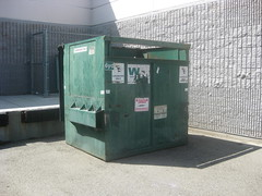 Waste Management (Thrash 'N' Trash Prodcutions) Tags: trash dumpster truck washington garbage management cans waste refuse recycle recycling carts bins containers kennewick