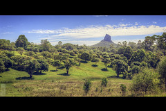 EdgeOfTheLostWorld (JayCMiller) Tags: trees house mountains glass grass forest 35mm volcano high nikon dynamic australia queensland plug range hdr core molten eroded photomatix tonemapped d700