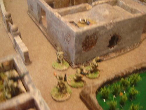 Approaching Objective 9 under fire
