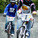 Ian Archibald and Scott Davidson BMX racing at Clydebank, Scotland May 2009