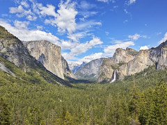 Yosemite Valley - Tunnel View (x-ray tech) Tags: trip lig