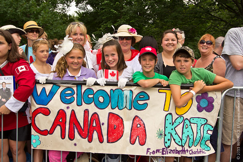 Royal Tour of Canada - Day 1 - Ottawa