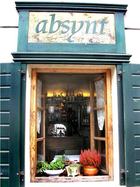 Absynt Cafe, Kazimierz, Krakow