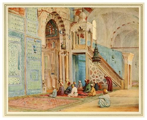 008-La mezquita azuL-An artist in Egypt (1912)-Walter Tyndale