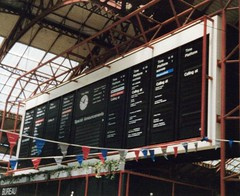 Brighton, 10th June 1989 (elkemasa) Tags: brighton 1989 solari flapboard departureindicator