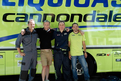 Liquigas Cannondale Mechanics Tour de France 2011