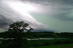 Shelf Cloud and Lightning DSC_9226 by Mully410 * Images