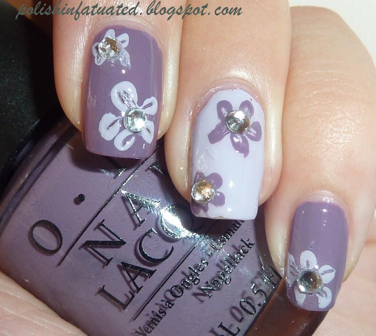 flower nail art2