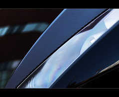 Lamborghini abstraction (Ianmoran1970) Tags: light black reflection car pretty flash fast quick lamborghini interference brum thinfilm ianmoran ianmoran1970 neeow