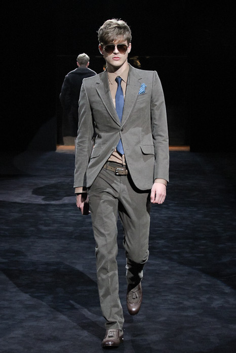 FW11 GUCCI Charity Fashion Show006_Franklin Huldreich Rutz(Fashionsnap)