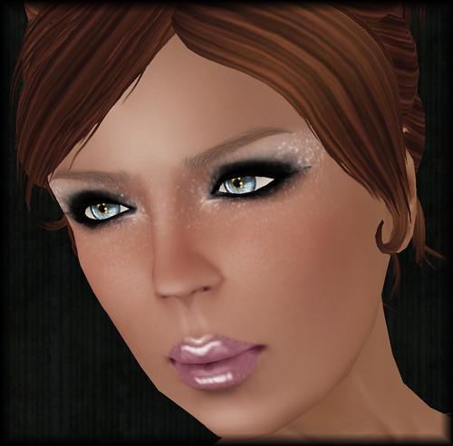 A:S:S - Glitter star makeup