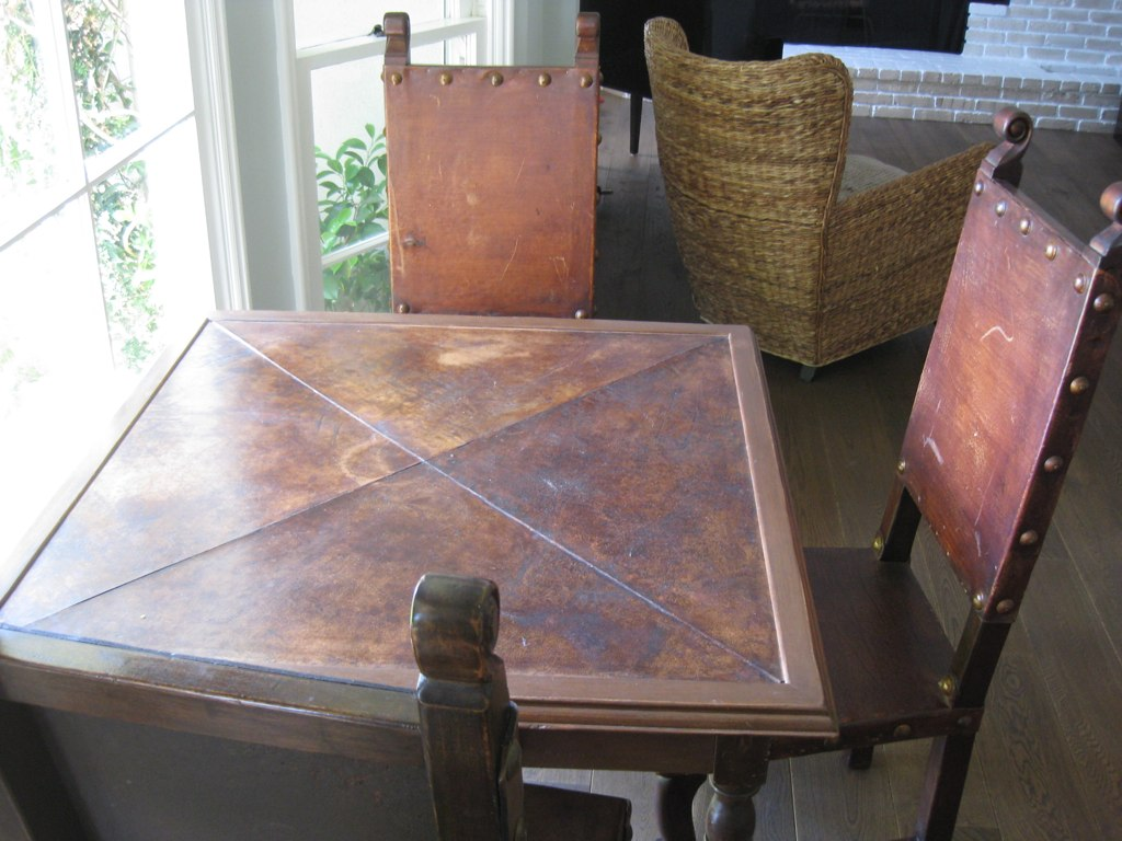 Antique Game Table - $300 or Best Offer