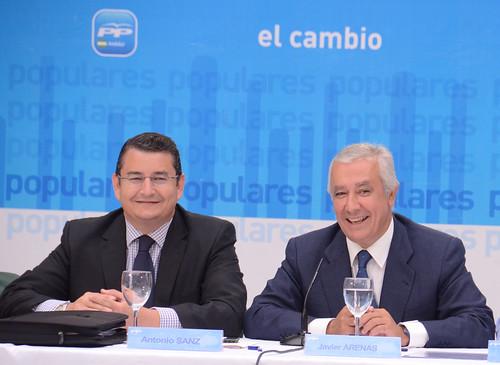 Antonio Sanz y Javier Arenas