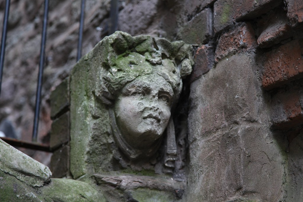 Turned to stone in Ludlow