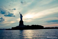 Project 365: Day 188 (Nani,) Tags: nyc sunset statueofliberty