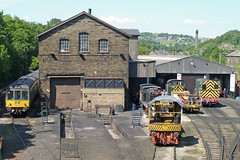 Keighley & Worth Valley engine sheds at Haworth by Tim Green aka atoach