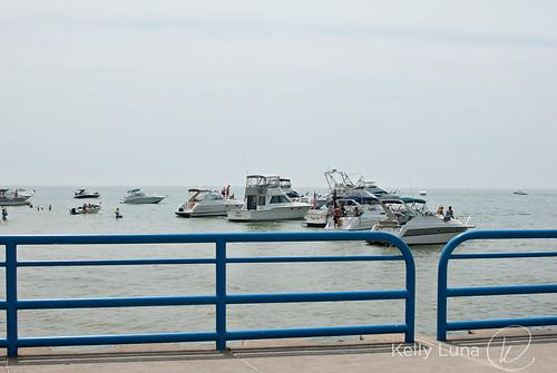 Silver Beach-boats