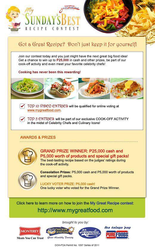 my_sundays_best_recipe_contest