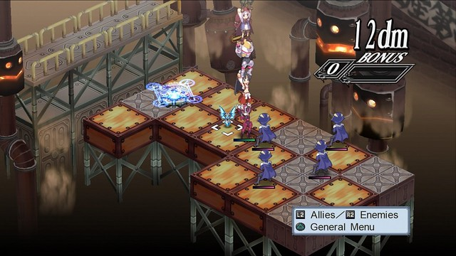 Disgaea 4: A Promise Unforgotten - Tower Stacking