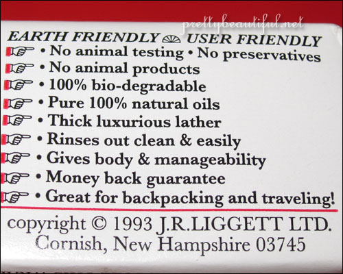 J.R. Liggett's, Old Fashioned Bar Shampoo with Tea Tree & Hemp Oil Benefits