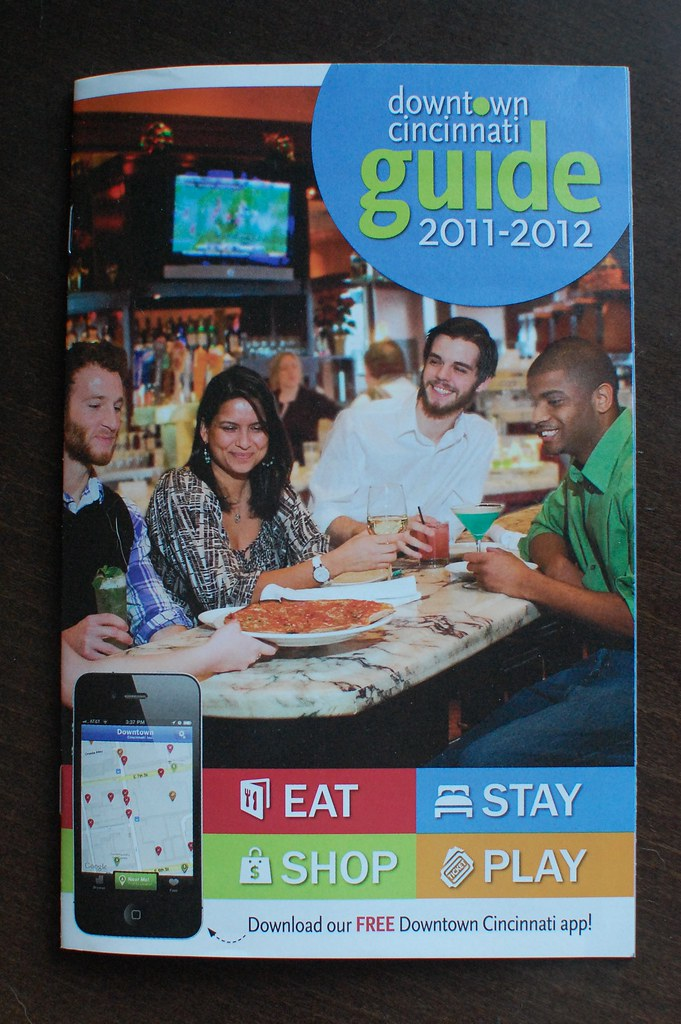 2011=2012 Donwtown Cincinnati Guide
