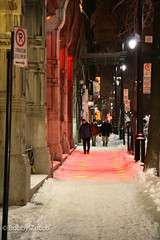 Montreal streets (ZUCCONY) Tags: snow ny night montreal bobby 2007 zucco pedrozucco
