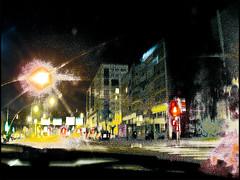 20110715_032 (sulamith.sallmann) Tags: road street city light urban blur night dark way effects licht blurry frankreich nightshot nacht stadt normandie verkehr unscharf fra dunkel weg effekt nachtaufnahme unsharp dunkelheit nachts cherbourg verschwommen stdtisch unschrfe strase sulamithsallmann