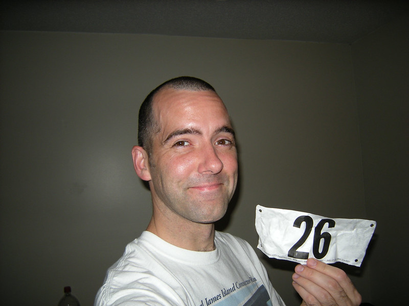Race 2 - Doubled My Race Number