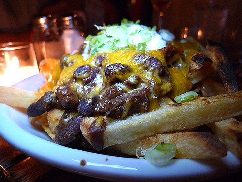 Chili Cheese Fries at Township