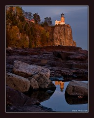 NaturesCallingTheShots.com   -   Split Rock lighthouse with reflection (NaturesCallingTheShots) Tags: reflection minnesota fallcolors northshore lakesuperior splitrock splitrocklighthousestatepark llmsmnsplitrock stevemaplegrove stevemccuskey lakesuperiorfallcolors