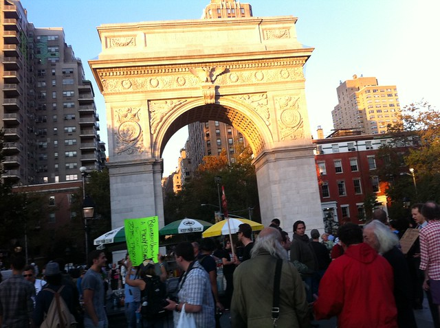 Washington Square Park October 8, 2011