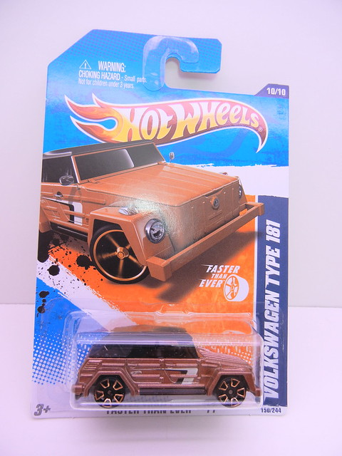 hot wheels volkswagen type 181 bronze (1)