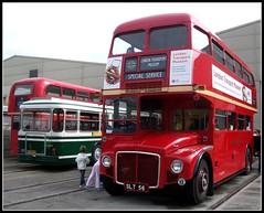 Prototype Routemaster RM1 Acton 09/10/11. (Ledlon89) Tags: bus london buses museum transport prototype depot routemaster acton lt parkroyal londonbus aec vintagebus