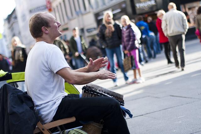 Gatemusikanter i Oslo - musikanter på gata i Oslo