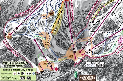 map location of Raven Hut