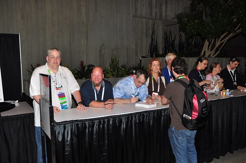 Chris Shaw et al at PASS Summit 2011 Deep Dives Signing