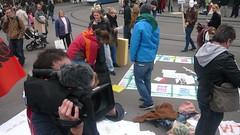 Camera Fuzzy Mic (pieceoplastic) Tags: schweiz switzerland zurich 99 banks paradeplatz ows 15oct occupy zurich occupytheplanet occupyparadeplatz